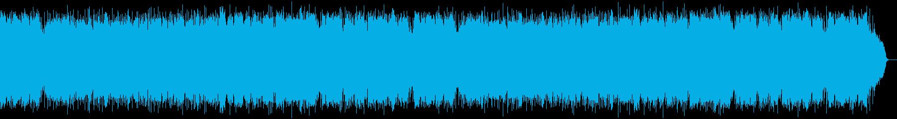 SAXが奏でるビギンのリズムの昭和歌謡の再生済みの波形