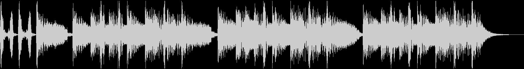 アメリカのDJ、ラッパー的なジングルの未再生の波形