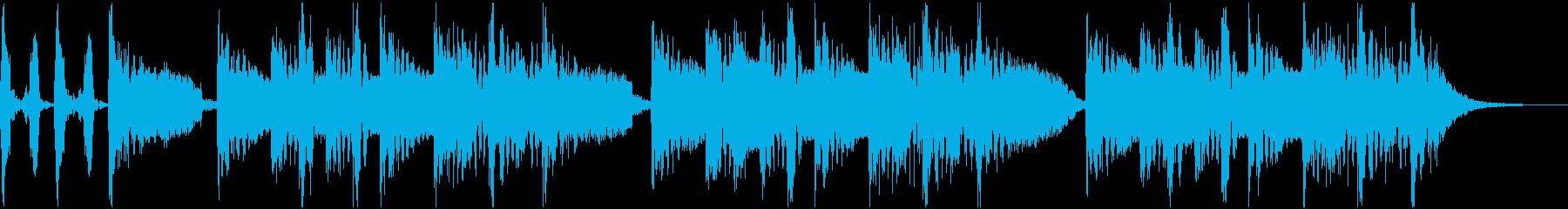 アメリカのDJ、ラッパー的なジングルの再生済みの波形