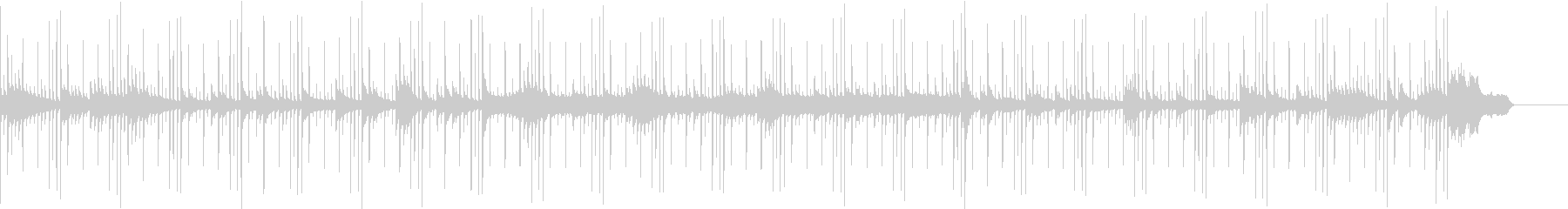 【ヒップホップ】どこか懐かしいサウンドの未再生の波形