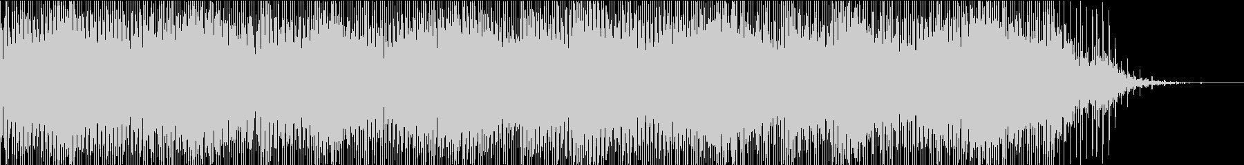 ふわふわ・キラキラした透明感のあるBGMの未再生の波形