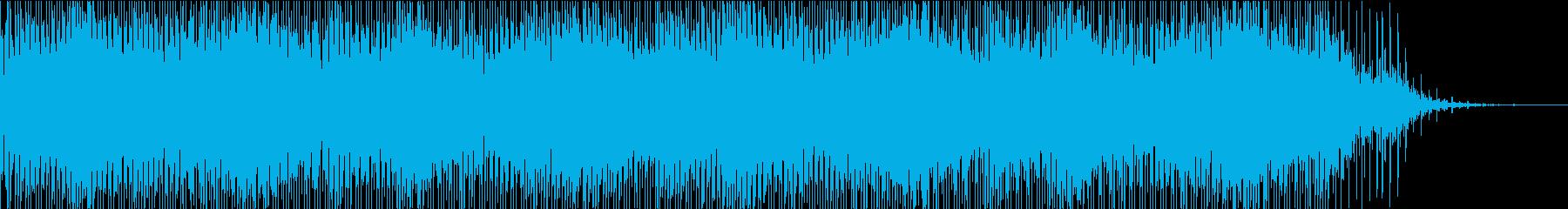 ふわふわ・キラキラした透明感のあるBGMの再生済みの波形