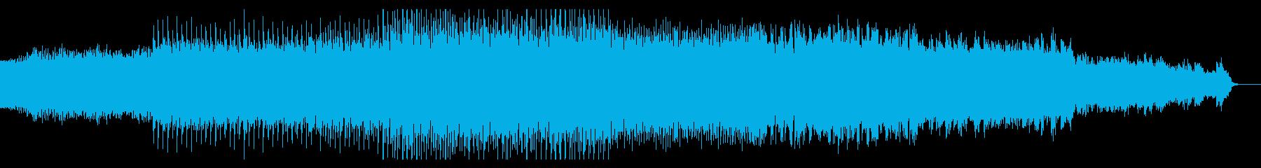 メカニカルなテクノの再生済みの波形