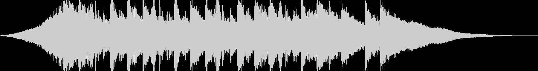 CMやサウンドロゴに、爽やかなアコギの曲の未再生の波形