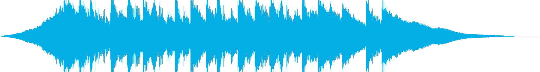 CMやサウンドロゴに、爽やかなアコギの曲の再生済みの波形