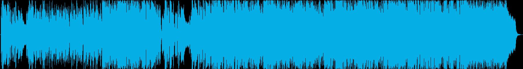 暗い、後ろ向きなバンドサウンドの曲ですの再生済みの波形