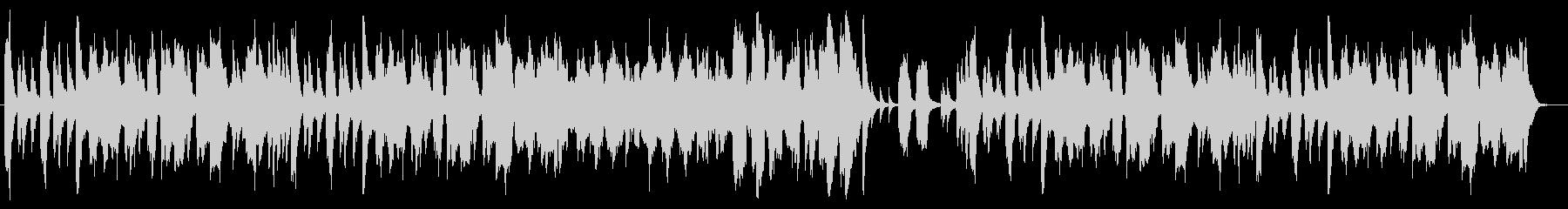ジブリ風のんびり長閑なオーケストラBGMの未再生の波形