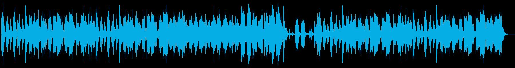 ジブリ風のんびり長閑なオーケストラBGMの再生済みの波形