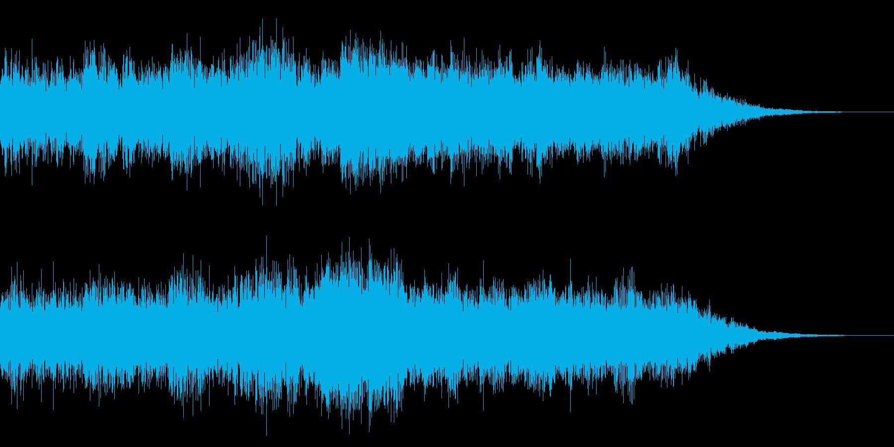 ゲーム等/場面のきりかえ (大迫力)の再生済みの波形