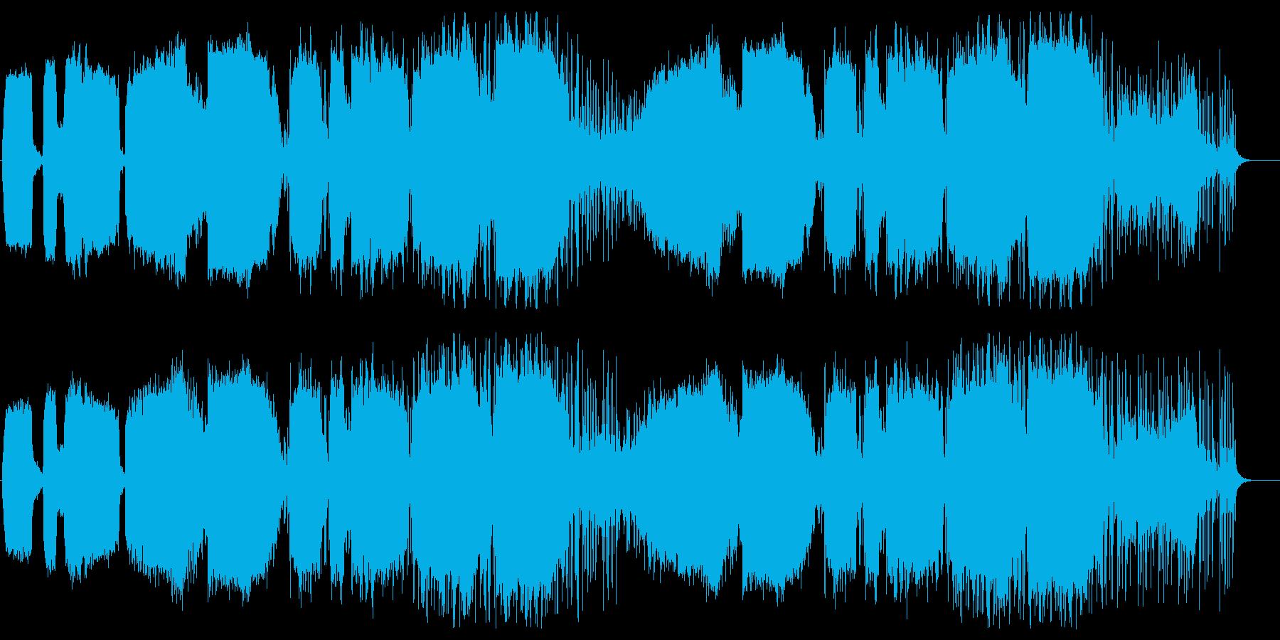 エスニック風の再生済みの波形