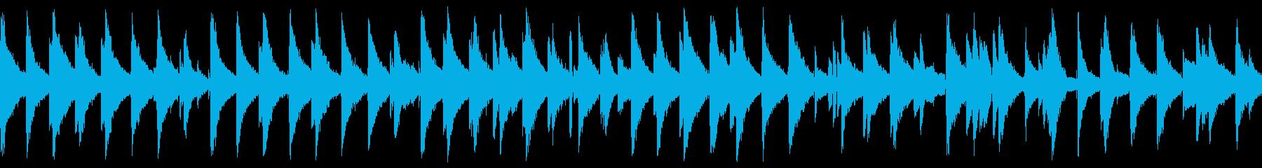 しっとり気品ある大人ジャズピアノ(ループの再生済みの波形