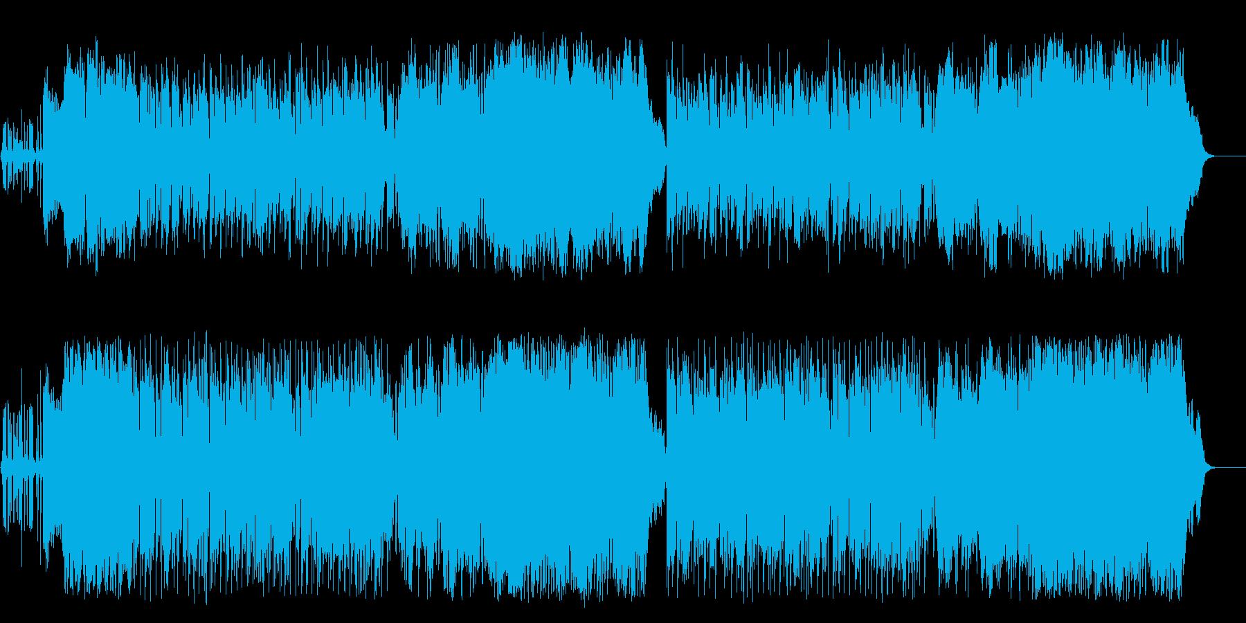 登場 行進 イベント オープニングの再生済みの波形