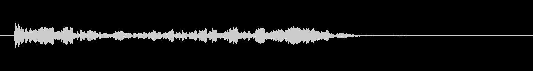 ゴングスモールロール-ローリングゴ...の未再生の波形