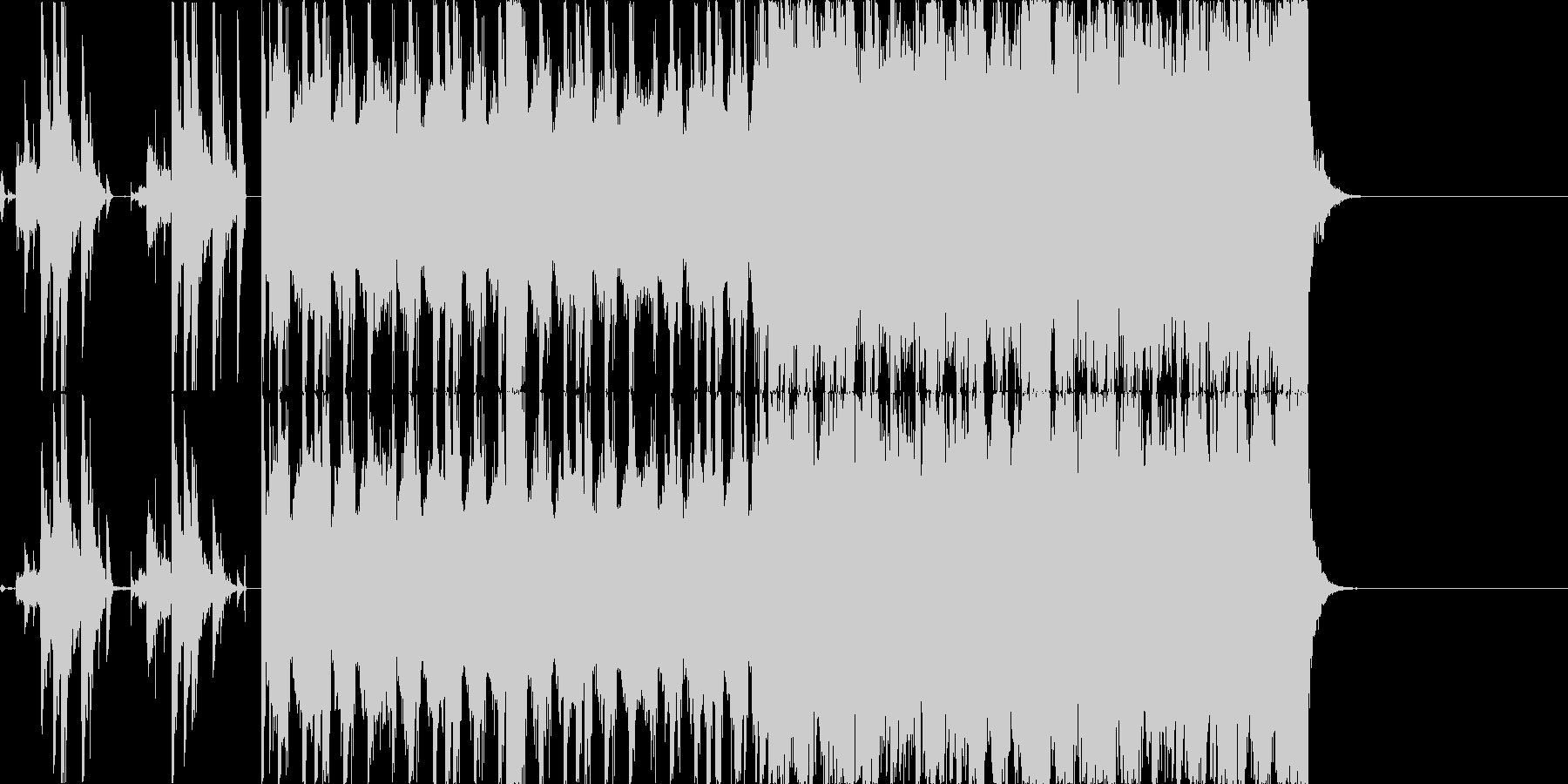 【オープニング等】クールなドラムンベースの未再生の波形