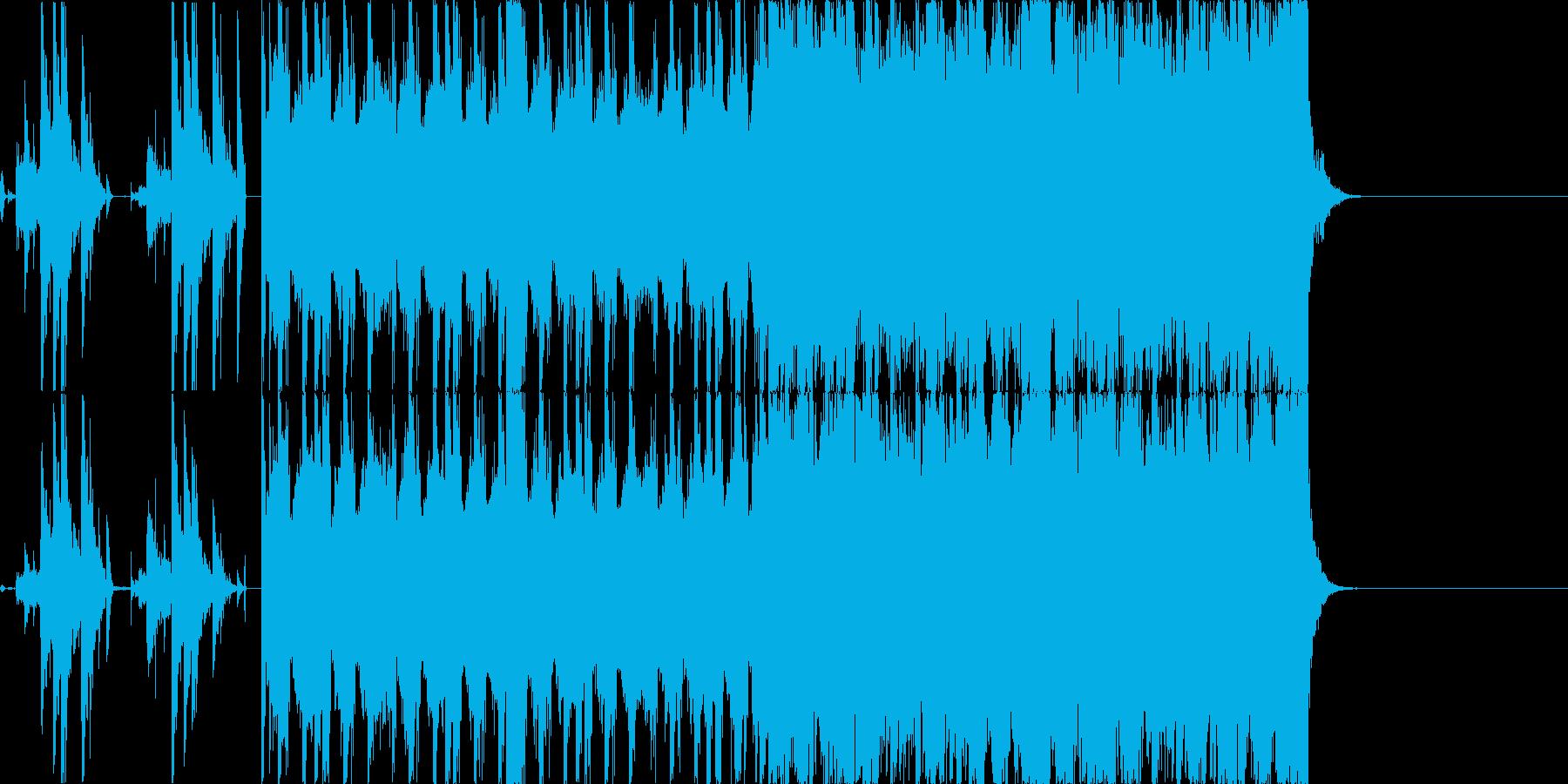 【オープニング等】クールなドラムンベースの再生済みの波形