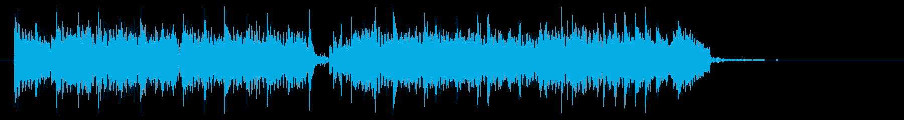 ギター効果音_騙し合いの再生済みの波形