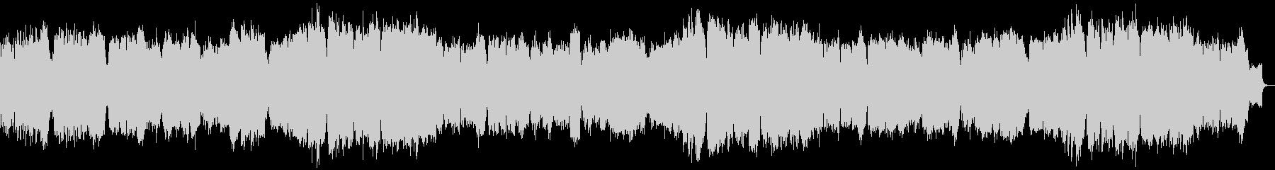 ピアノ中心の優しいメロディアスバラードの未再生の波形