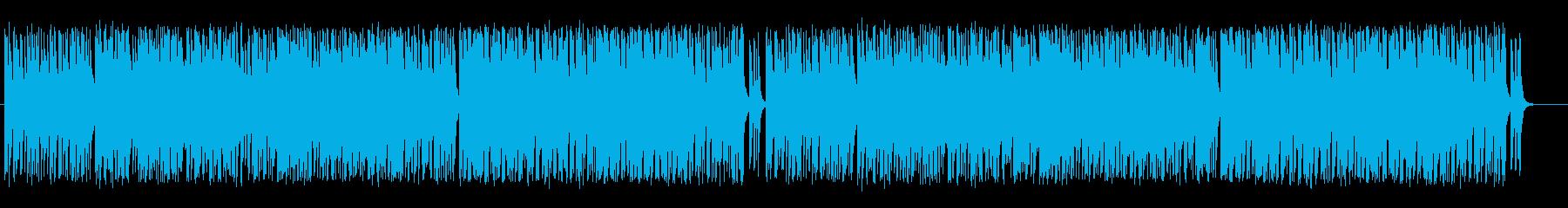 物憂げなアクションRPGのフィールド曲の再生済みの波形