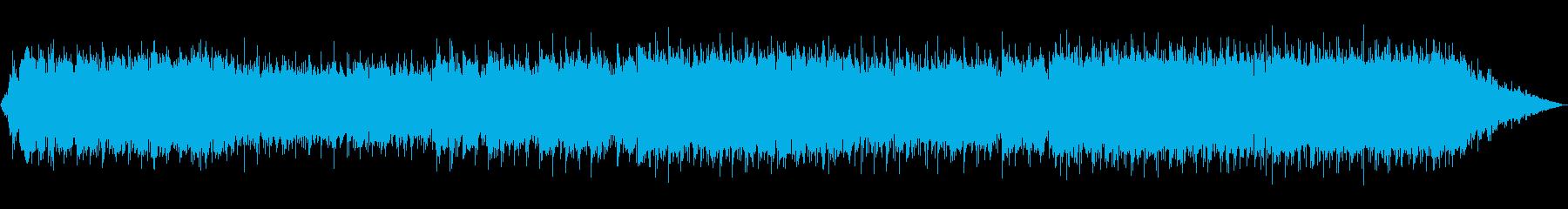 エスニックな笛の哀愁のあるBGMの再生済みの波形