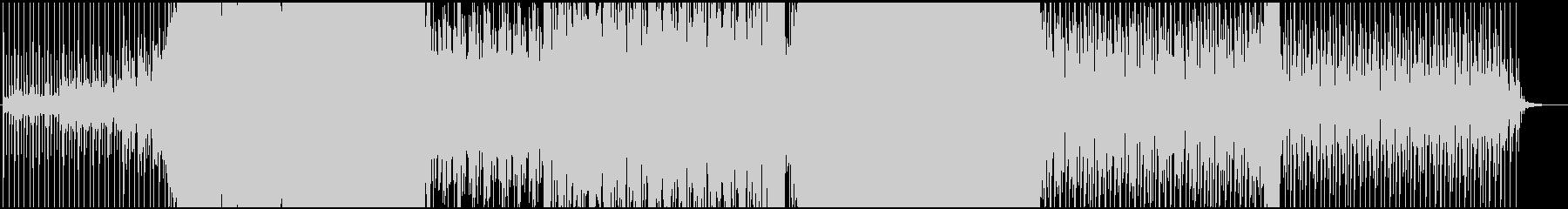かっこいいドラムンベースの未再生の波形