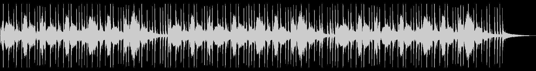 シンセベース音が心地よい待機中BGMの未再生の波形