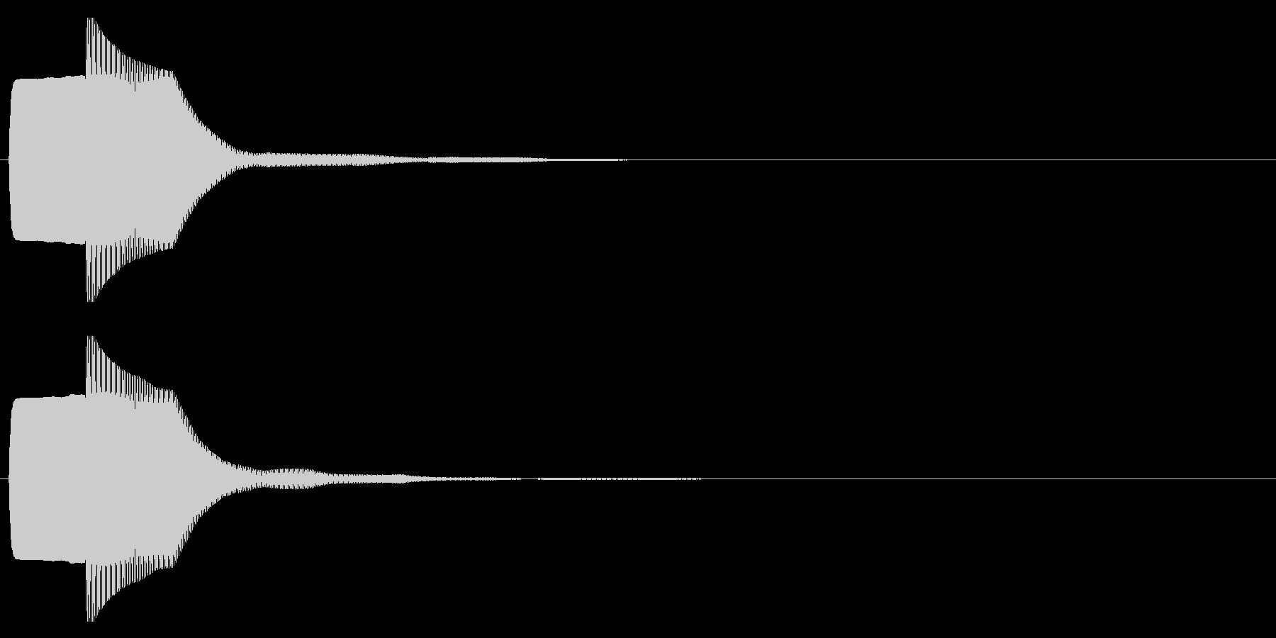 ピコン(起動,通知,タップ,決定)_05の未再生の波形