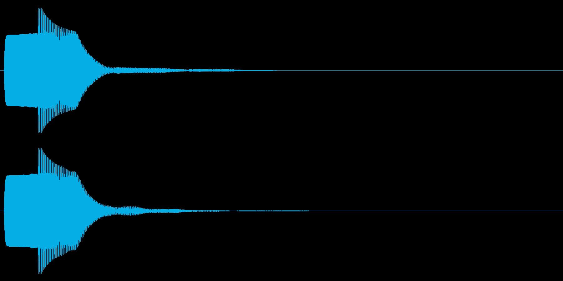 ピコン(起動,通知,タップ,決定)_05の再生済みの波形