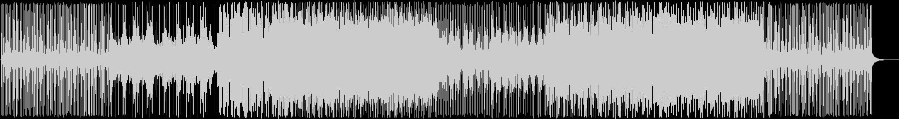 軽快エモーショナル-PV映像の未再生の波形