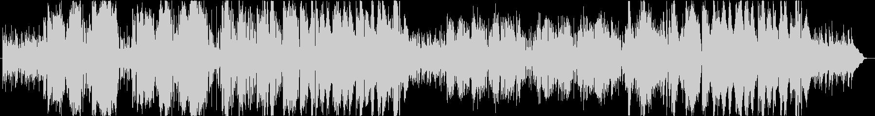 ブルージーなfunkインスト曲の未再生の波形