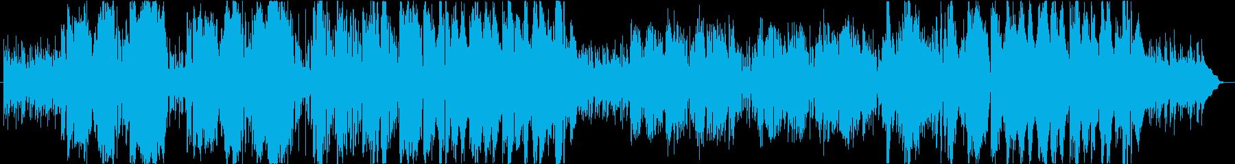 ブルージーなfunkインスト曲の再生済みの波形