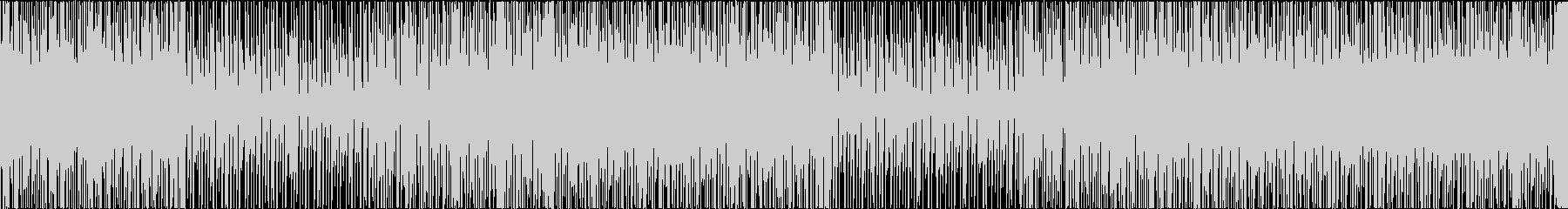 明るく爽やかなループBGMの未再生の波形