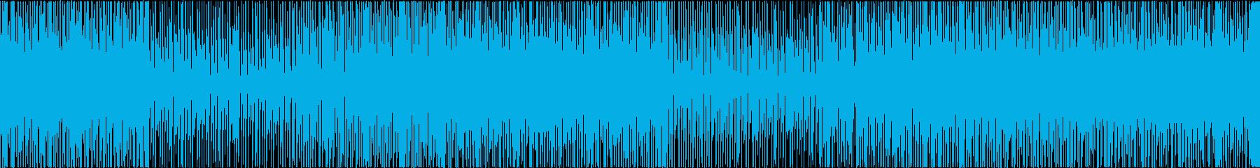 明るく爽やかなループBGMの再生済みの波形