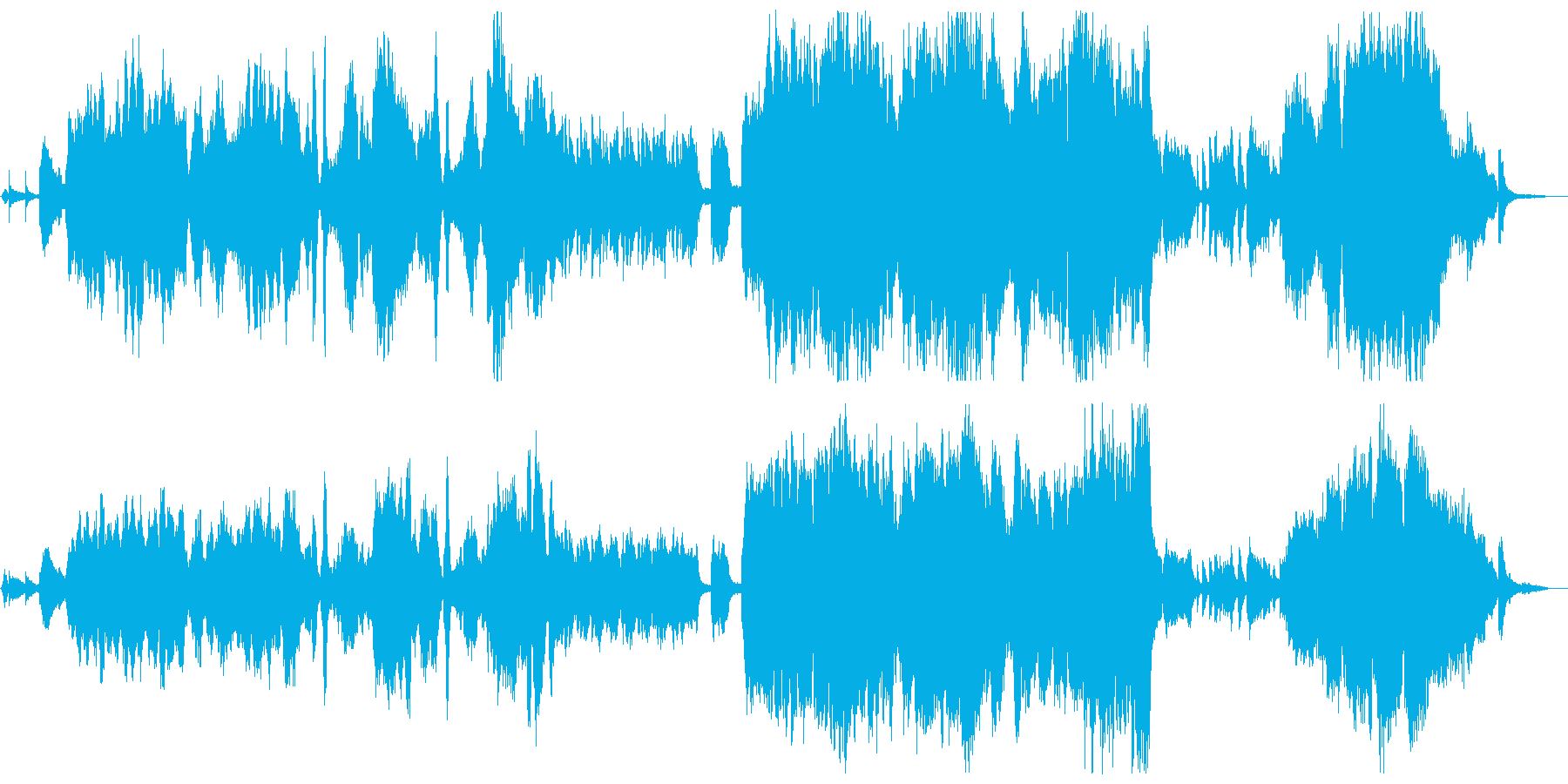 RPG 回想/優しさ/エピローグの再生済みの波形