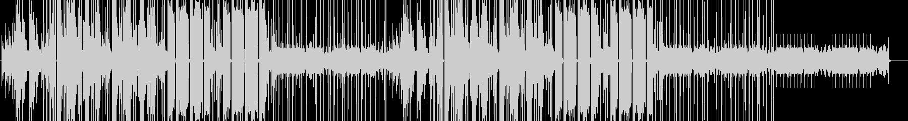 ピアノリフが続くLoFi HipHopの未再生の波形