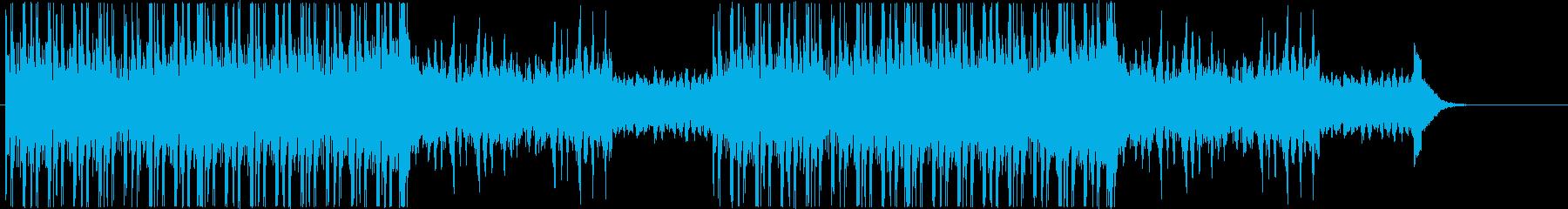 オーディオドラマ向けBGM/サスペンス1の再生済みの波形