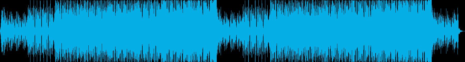 軽快清涼感クールEDMトロピカルハウスaの再生済みの波形