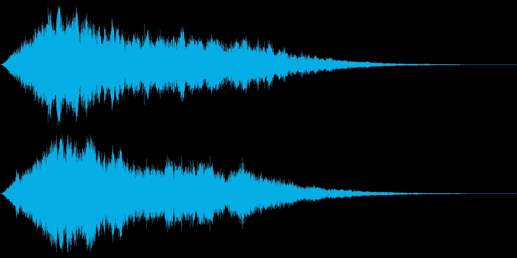 【アンビエント】映画タイトルロゴ_07の再生済みの波形