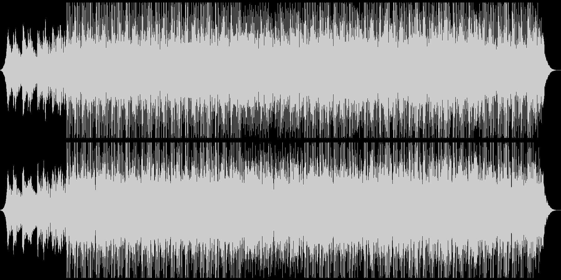 テクノロジーミュージックの未再生の波形