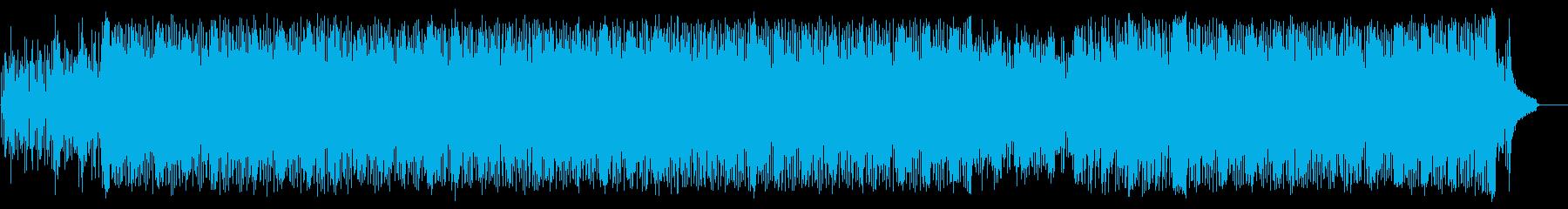 深夜ドラマ風シリアスなテクノポップの再生済みの波形