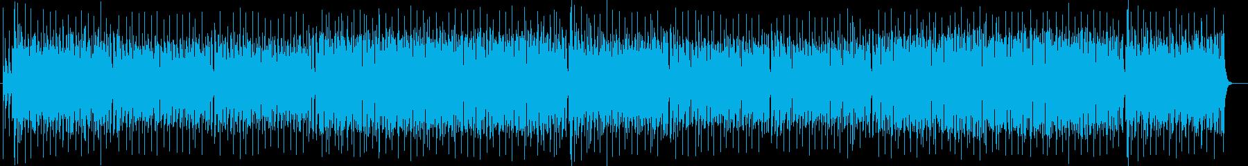 爽やかなシンセサイザー系サウンドの再生済みの波形