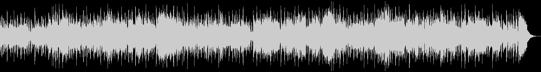木琴メロディの明るいポップスの未再生の波形