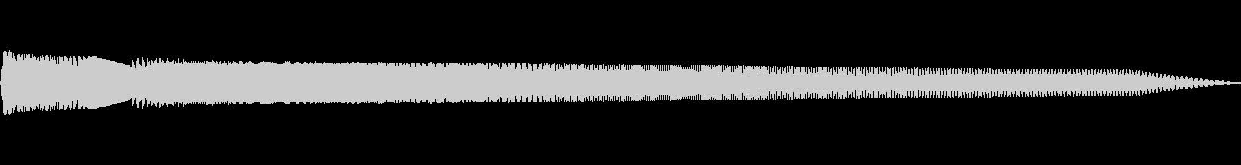 サイン波スイープの未再生の波形
