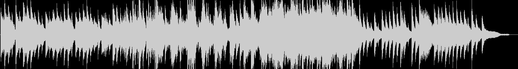 リラックス・ジャズ・映像・ナレーション用の未再生の波形