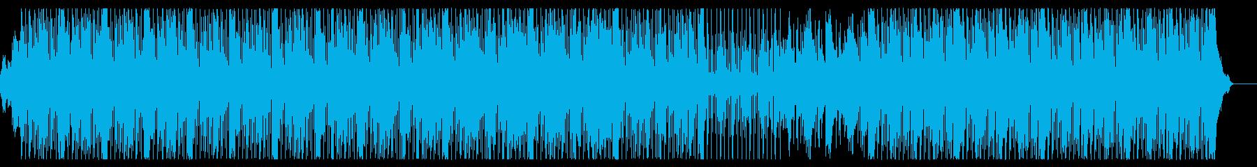 トレンディなビートを備えた現代的な...の再生済みの波形
