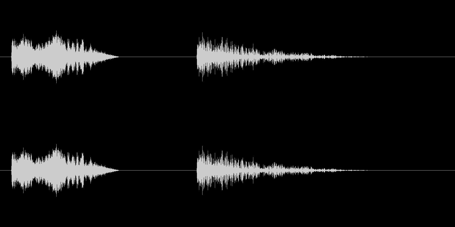 爆発5の未再生の波形