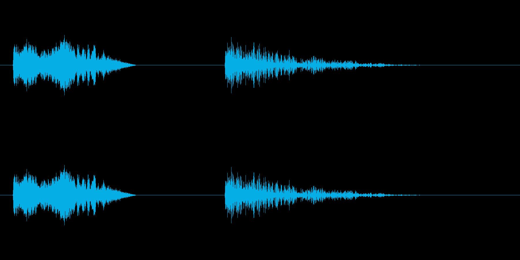 爆発5の再生済みの波形
