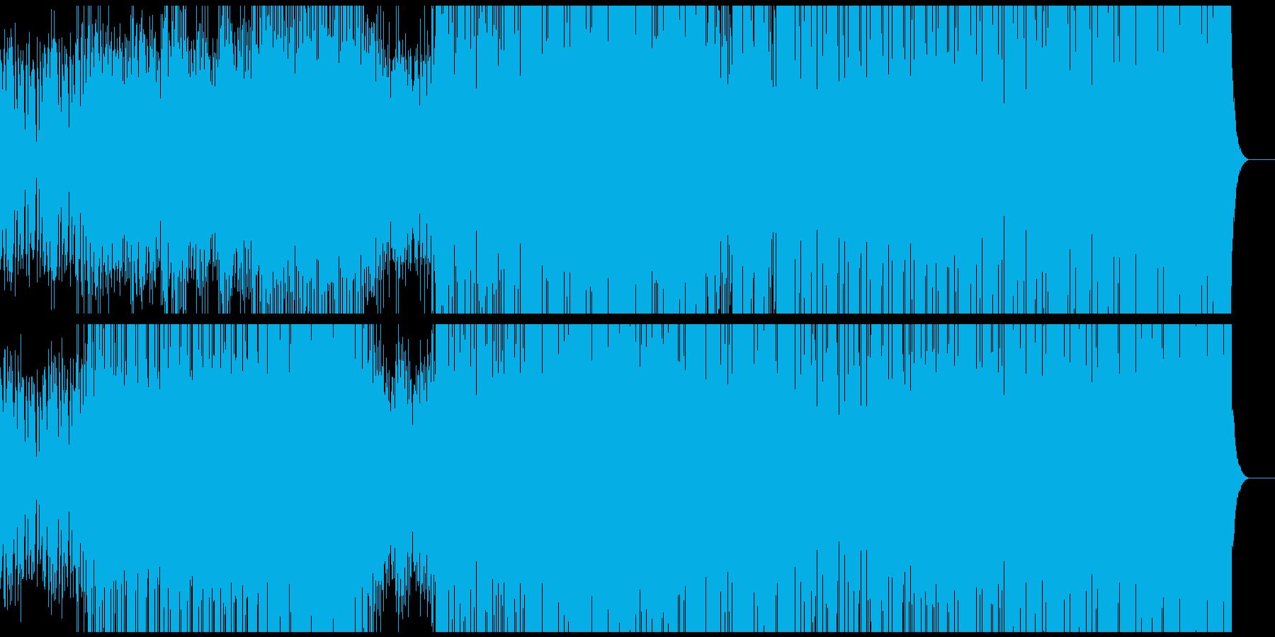 ひとつのベクトルに突き進むテクノ。の再生済みの波形