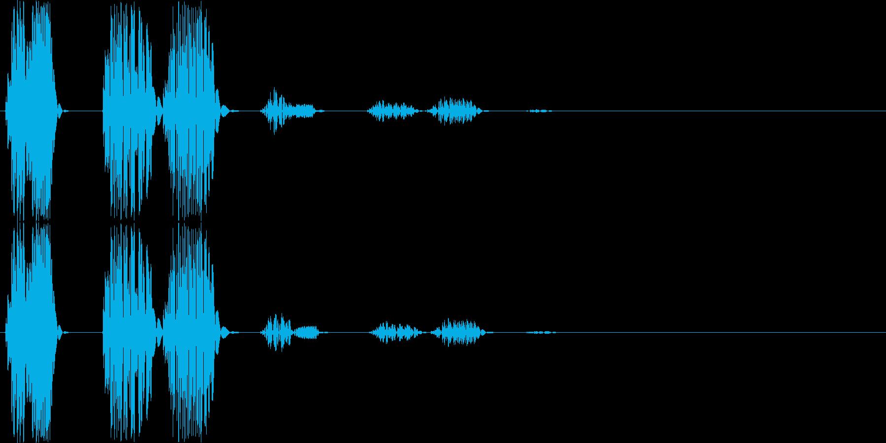【ポコッ】ファミコン系 敵を倒す音_02の再生済みの波形