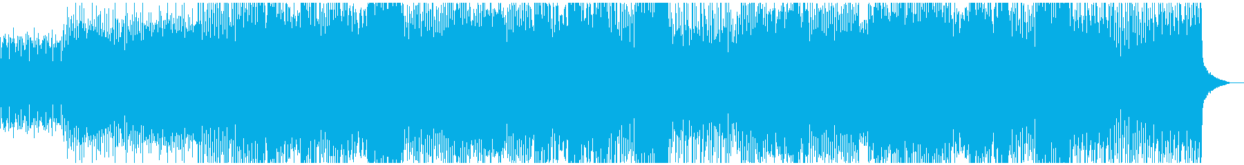 【和風】三味線、尺八、軽快なトランスの再生済みの波形