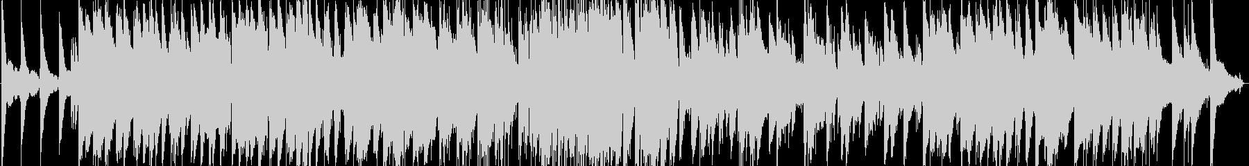 ゆったりとしたバラード風ピアノトリオの未再生の波形